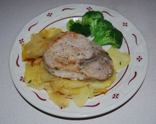 Whisk pork chops 015