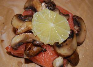 Whisk salmon en papillote 004