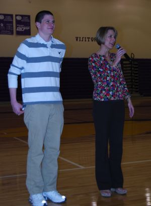 Guerin awards night and flowers 002