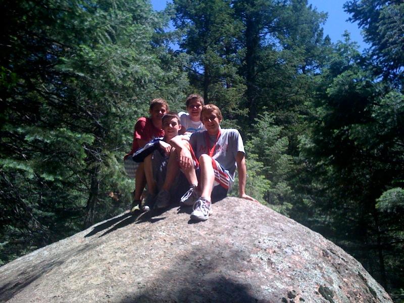 Photo Matt 7 Falls Colorado and guys