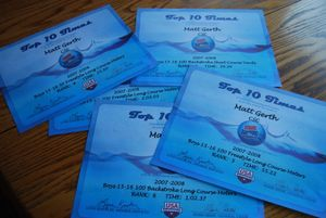 Usa swimming certificates 2009 007