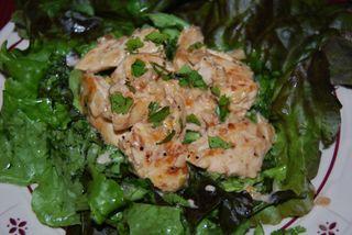 Whisk chicken liver salad 020