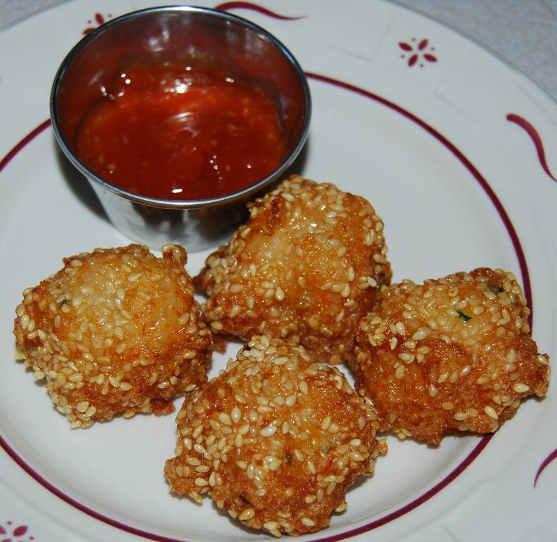 WW Shrimp Balls and CI Bolognese 010