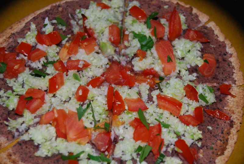 Ellie Black Bean Pizza 015