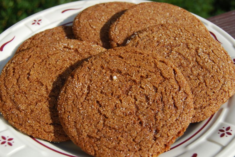 TWD Molasses Cookies 007