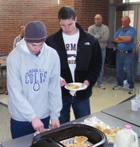 CSC Dad's Pancake Breakfast Nov. 28, 2009 013