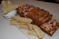 SB Tracey's Biscotti and Cranberry Bread 012