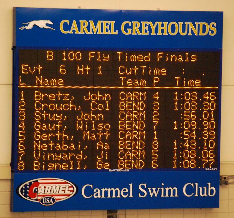 CHS Swim Meet Feb 2 vs Ben Davis & Ciambella for CI 016