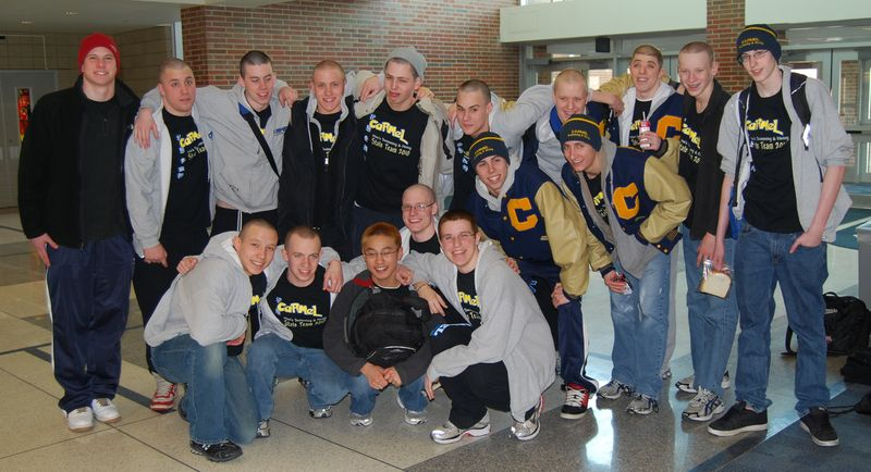 CHS Heading off to State 2010 003