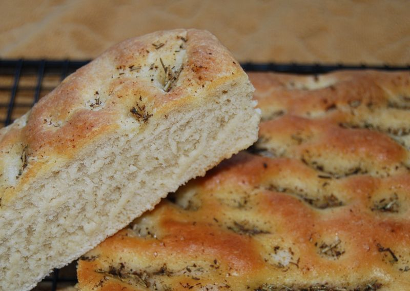 Easter, Cooking Blogs CI Focaccia; ModBaker Choco Spice Bread; 082