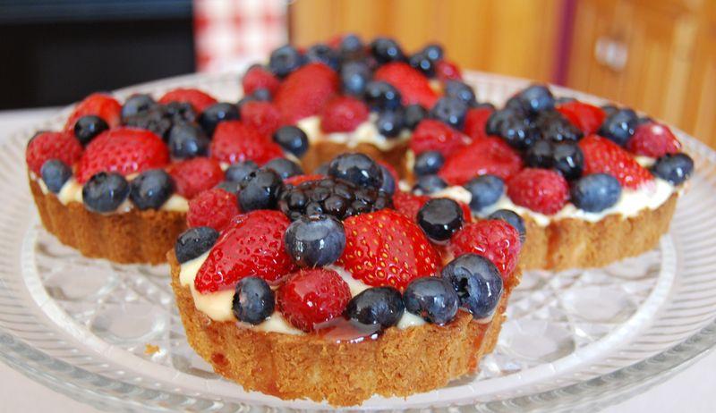 TWD Mixed Berry Tart 026