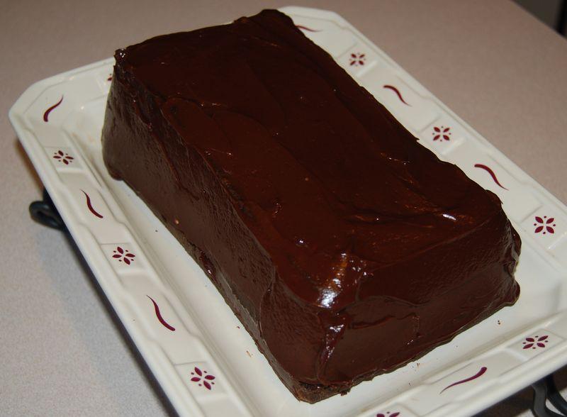 TWD chocolate cake 007