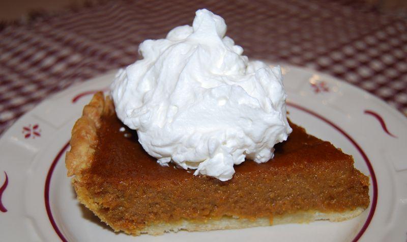 FFwD Mustard Tart; TWD Caramle Pumpkin Pie 010
