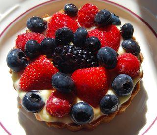 TWD Mixed Berry Tart 001