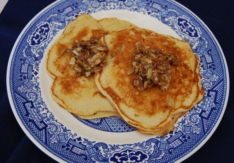 Ellie Pancakes and MelBak Corn Bread 007