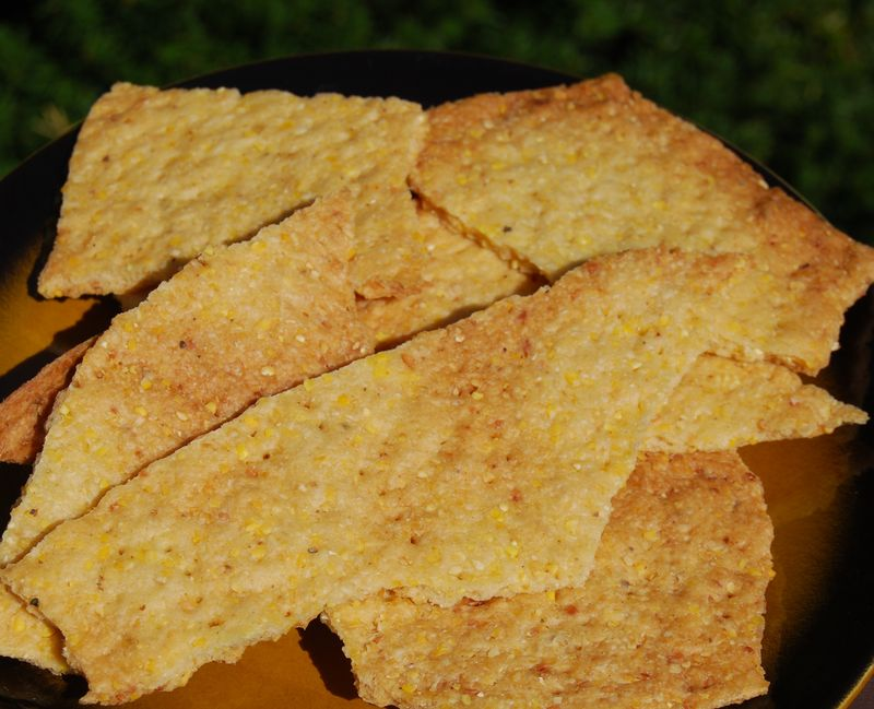 Cornmeal Flatbread MB 002