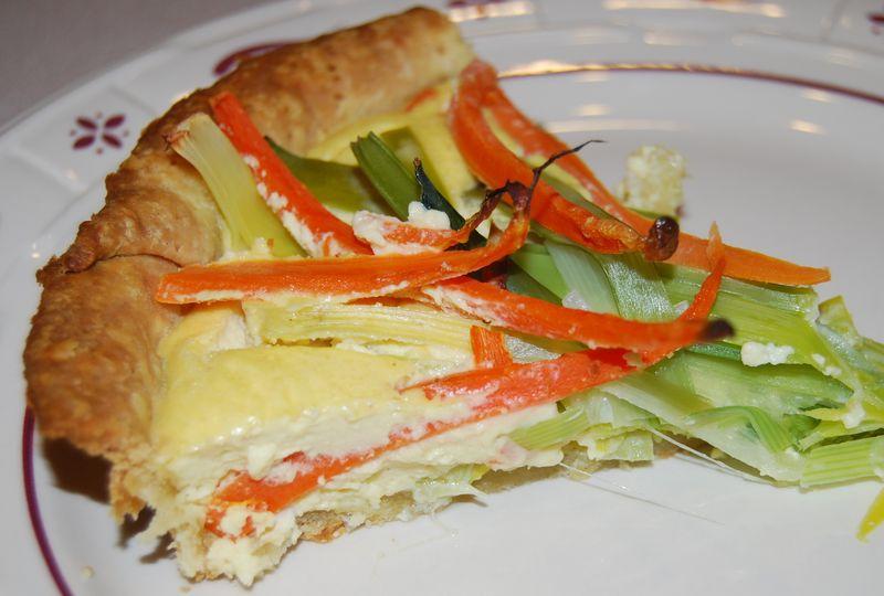 FFwD Mustard Tart; TWD Caramle Pumpkin Pie 004