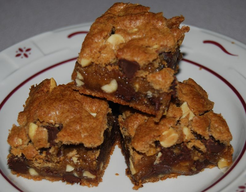 TWD Peanut Blondies 013
