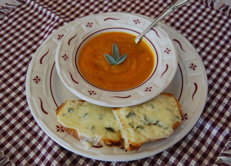 IHCC Butternut squash soup 017
