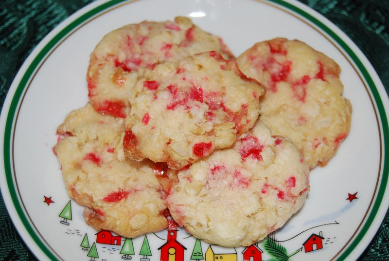 Candy Cane Peppermint Cookies 010