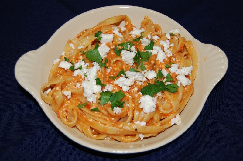 CEiMB Red Pepper Pasta Sauce with Feta 004