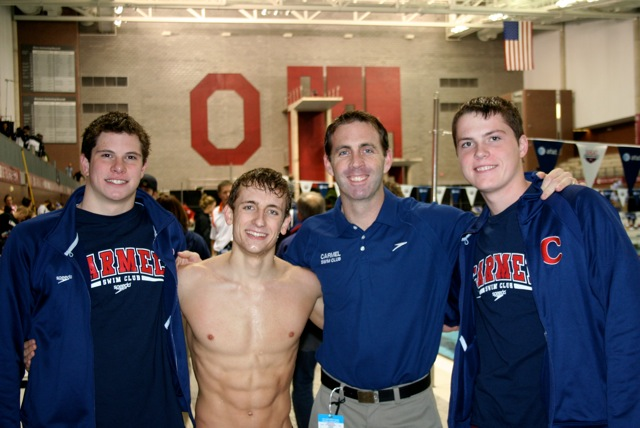 Relay Team Nats 2010 OSU  Matt John Chris Harrison