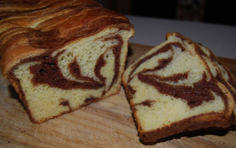 MB Marbled Chocolate Brioche Loaf 009