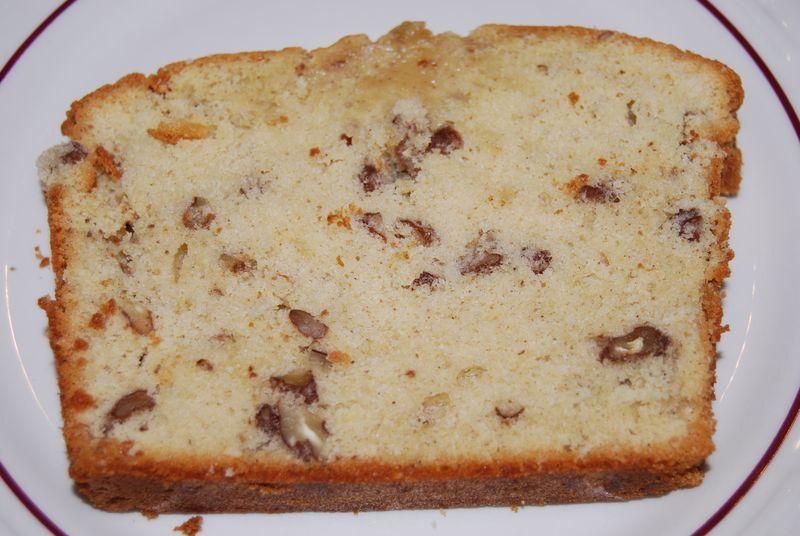 Praline cake slice BAKE! 003