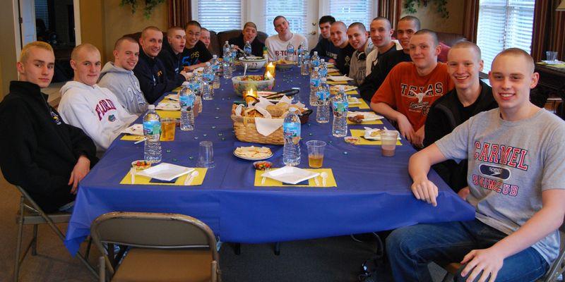 Barnraisers Bread and CHS Pre-State Lasagna Dinner 037