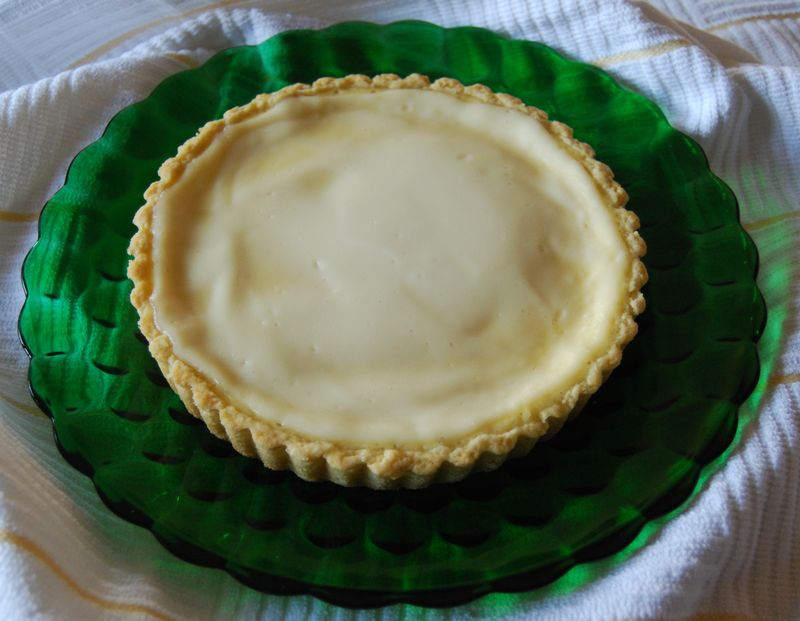 Lemon Sour Cream Pie MB and CEiMB Pork chops 015