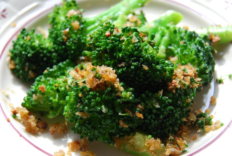 Quinoa Salad and Broccoli FFwD 023