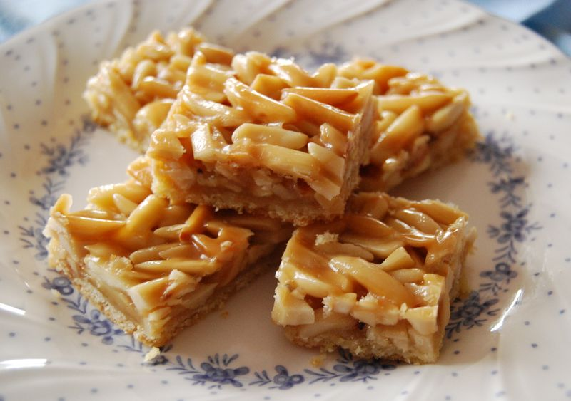 TWD Pecan Puffs and Bake! Golden Almond Bars 105