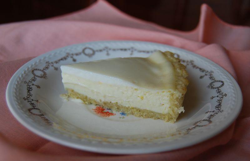 Lemon Sour Cream Pie MB and CEiMB Pork chops 029