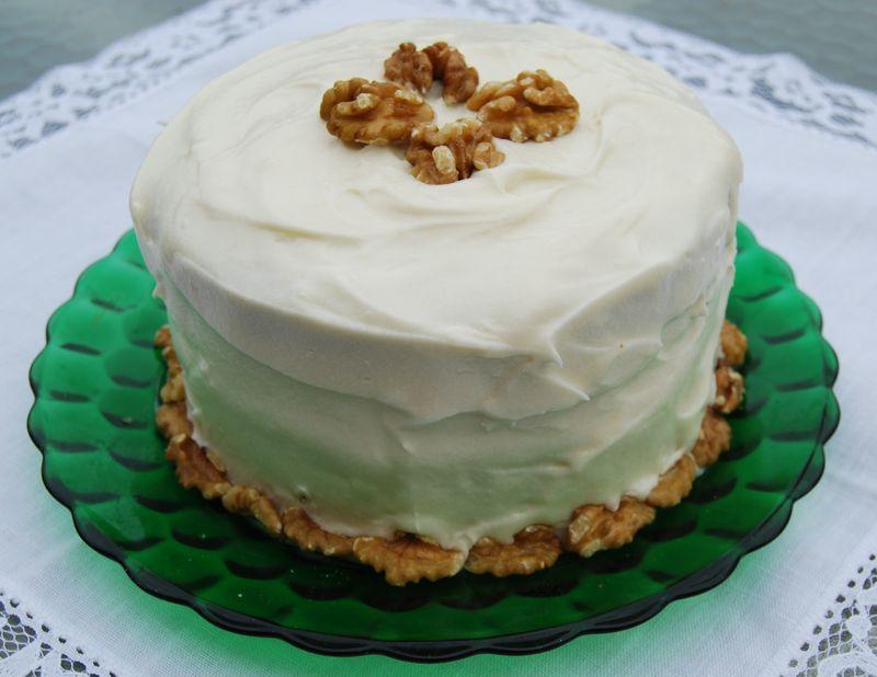 TWD apple tart and Bake! Carrot Cake 020