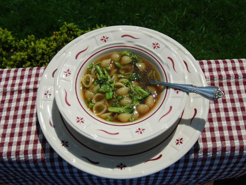 Hazan 30 Min Pasta Broccoli Soup 006