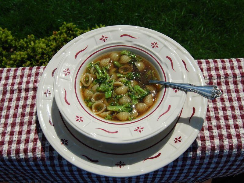 Hazan 30 Min Pasta Broccoli Soup 006