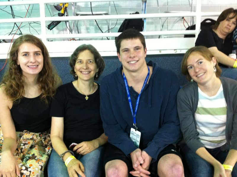 Jenni, Nancy, Matt, and Caitlin at Grand Prix in Charlotte, NC