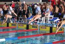 Nats in Sanford CA Matt diving in 4x100 relay lead off