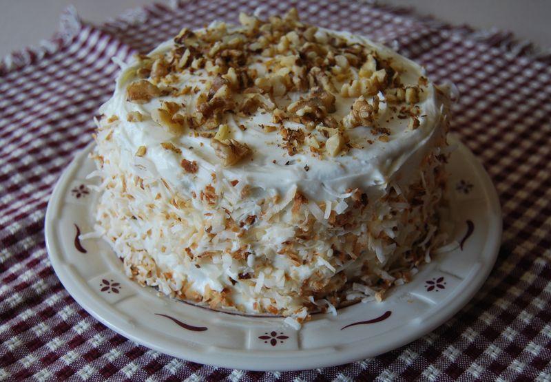 TWD Carrot Cake 089