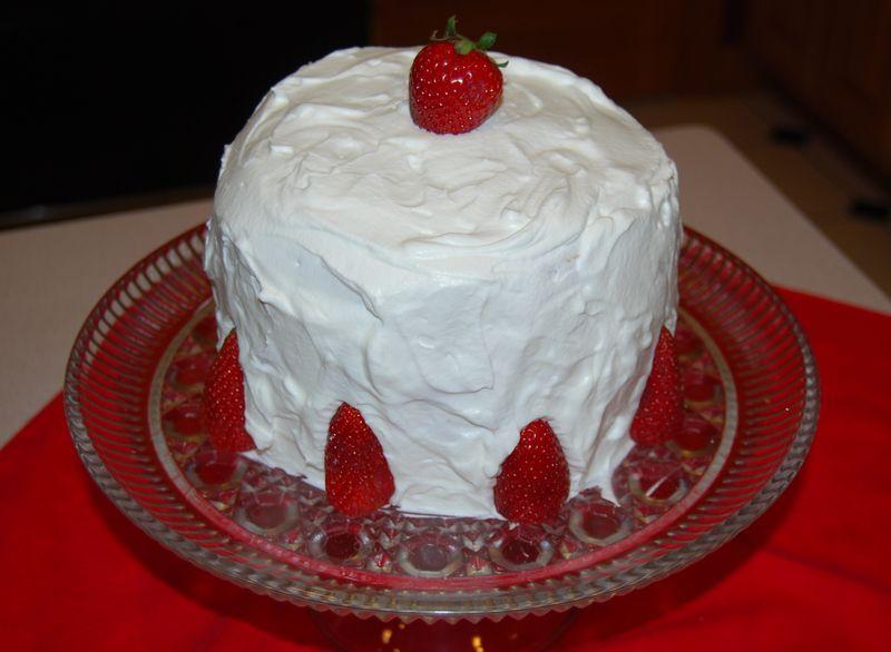 MB Banana Tart and Bake Chantilly Cake 038