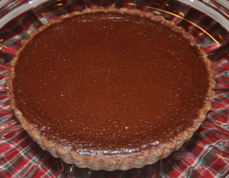 Bake Citrus-Scented Chocolate Tart 005