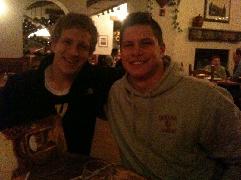 Matt and Mike at Big Tens 2012
