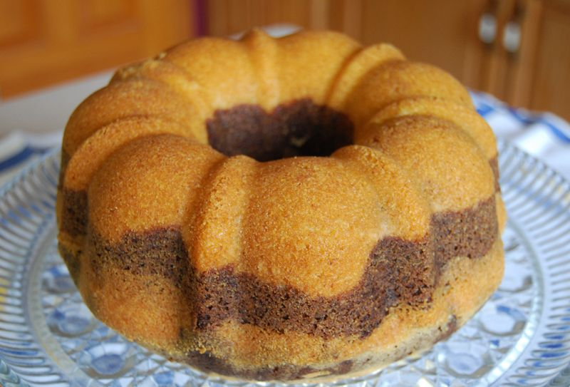 MB Marble Rum Cake and Misc 043
