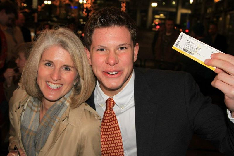 Matt and Kathy Hasler at Yultide