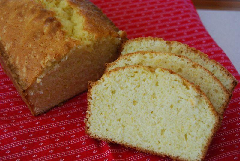 Lemon Loaf Inside & DH Salmon Pasta 006
