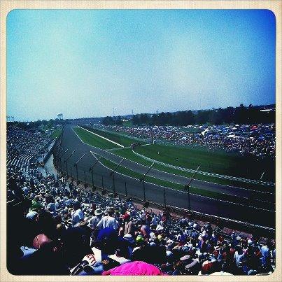 Matt, Ian, Steve at 500 Race