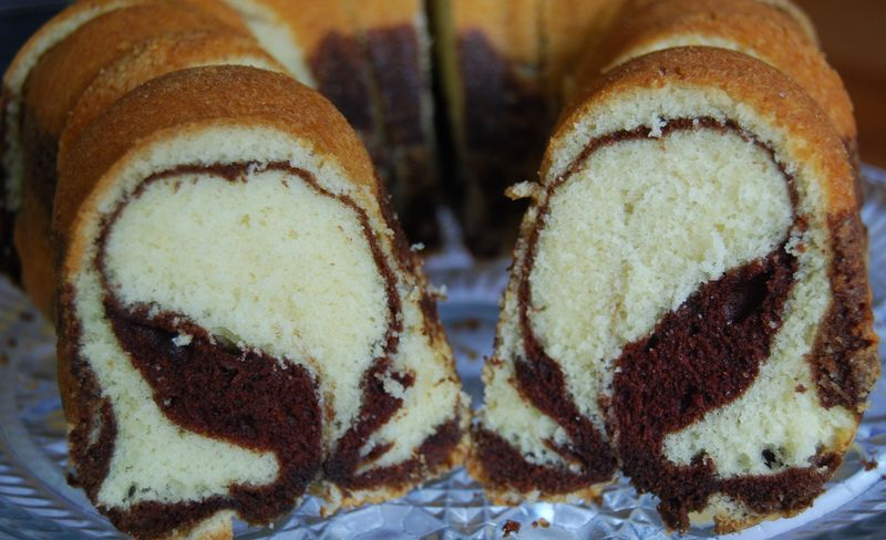 Rum-scented Marble Cake | The Modern Baker Challenge