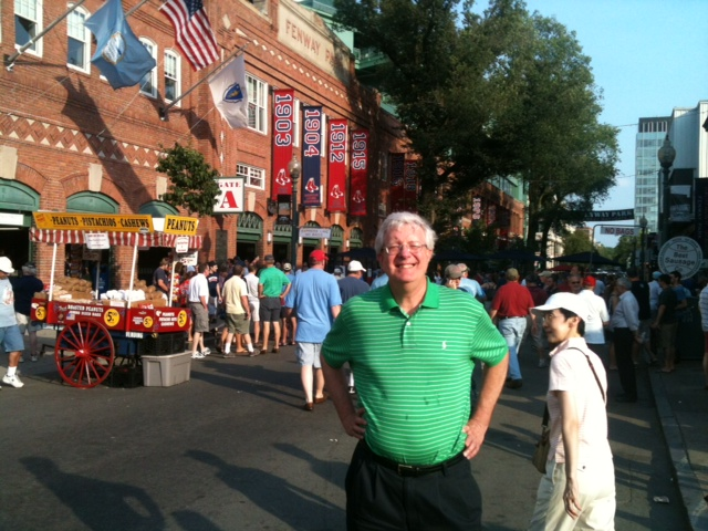 Mark at Fenway June 20, 2012