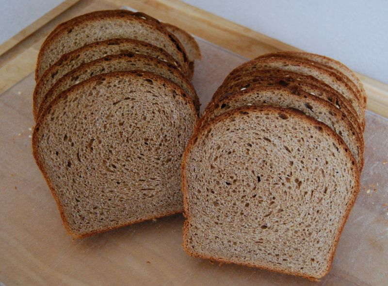 BBA Whole Wheat Bread inside 019