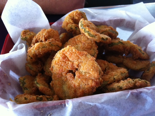Fried Pickles at Gulf Shores Aug 2012